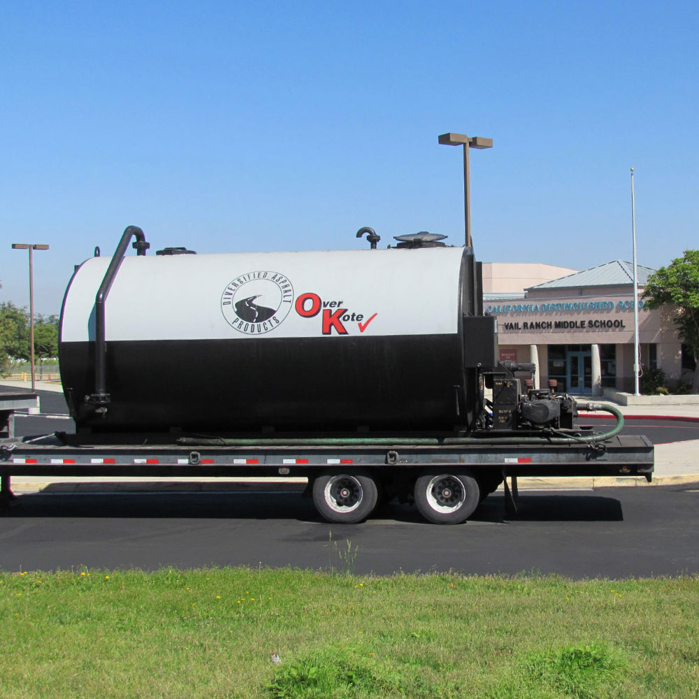 6000 Gallon Job Site Storage Tank Rental