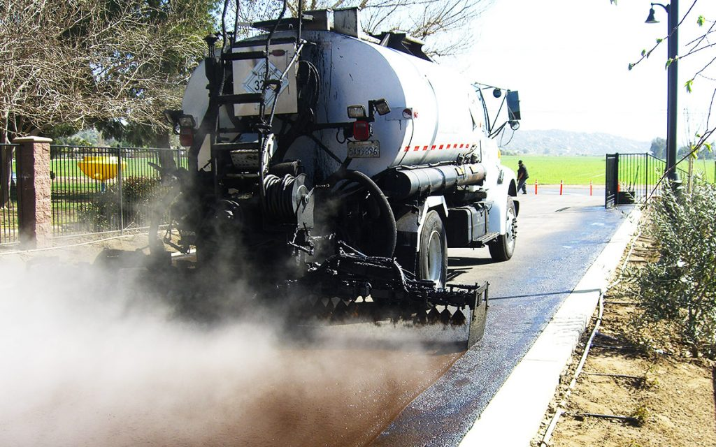 Diversified Asphalt Services - Fog Seal