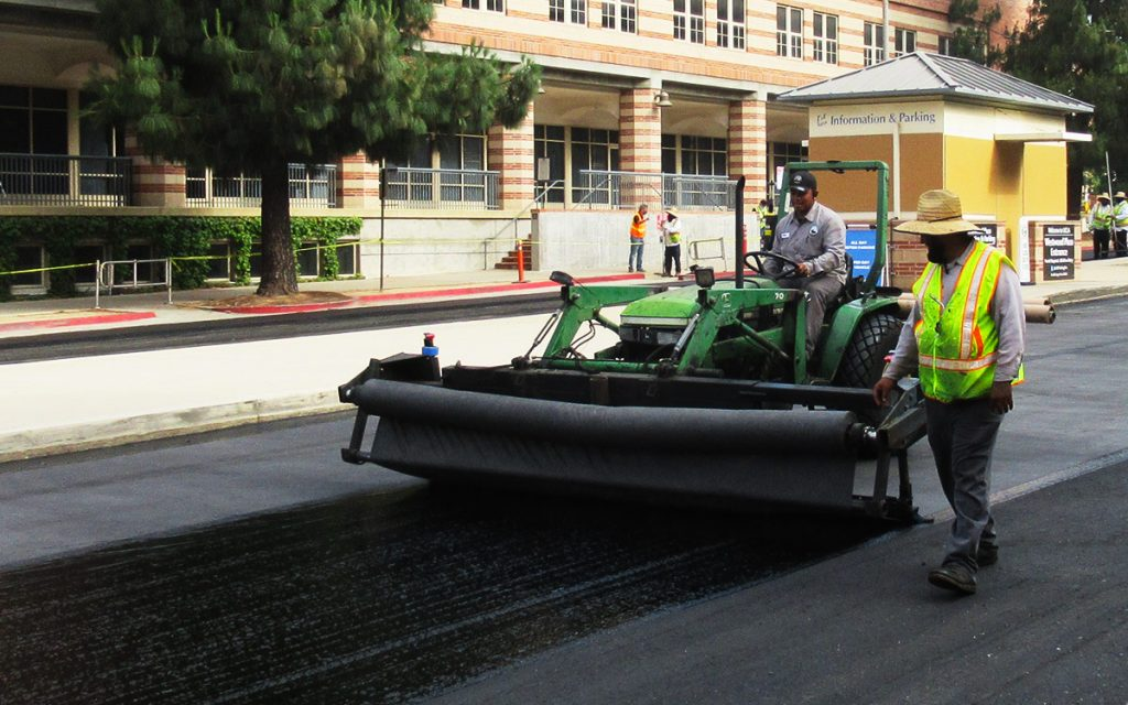 Diversified Asphalt Services - Paving Fabric Installation